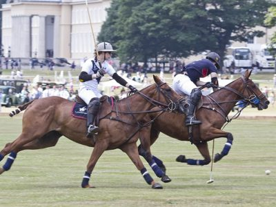 Polo played at the Royal Military Academy Sandhurst during the Academy Heritage Day. Matches were between Sandhurst and Harrow School and Sandhurst and Oxford University. Commentary was by Simon Ledger.